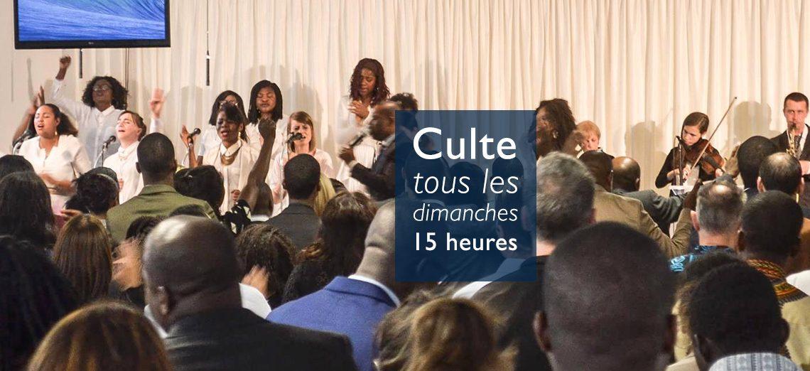 Culte tous les dimanches à 15 - Lorient