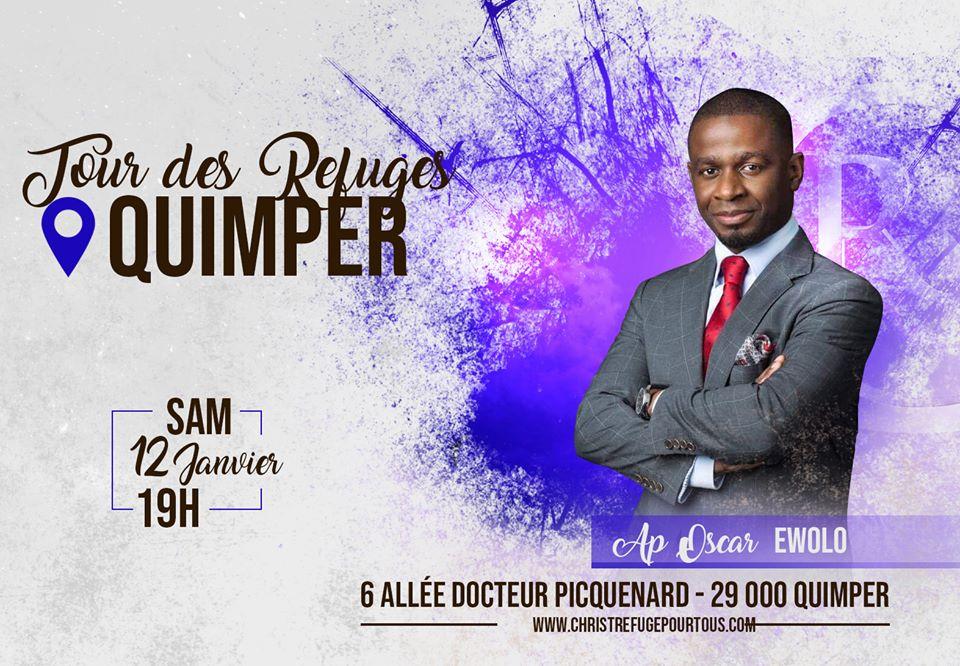 Tour des refuges Quimper - Oscar Ewolo