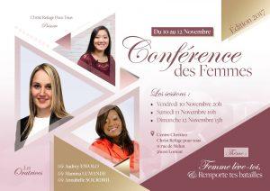 Conférence des femmes 2017 - Eglise christ refuge pour tous